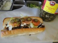 Cheesesteak with a little kick